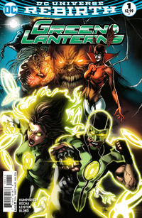 Cover Thumbnail for Green Lanterns (DC, 2016 series) #1 [Robson Rocha / Joe Prado Cover]