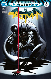 Cover Thumbnail for Batman (DC, 2016 series) #1 [DCBS Exclusive Neal Adams Variant]