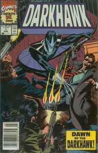 Cover Thumbnail for Darkhawk (Marvel, 1991 series) #1 [Newsstand]