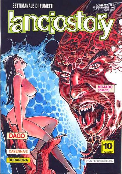 Cover for Lanciostory (Eura Editoriale, 1975 series) #v25#45