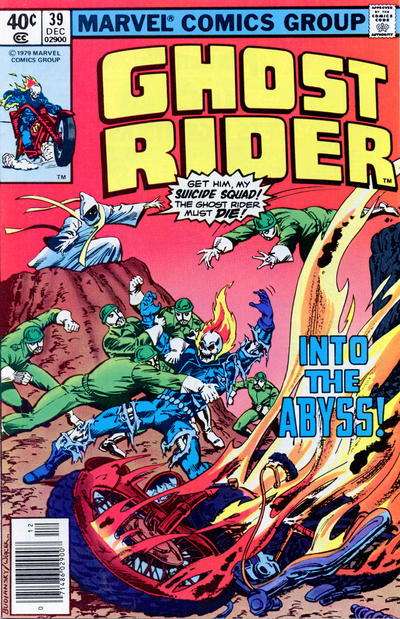 Cover for Ghost Rider (Marvel, 1973 series) #39 [Direct]