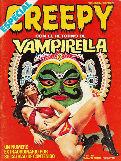 Cover for Creepy (Toutain Editor, 1979 series) #35