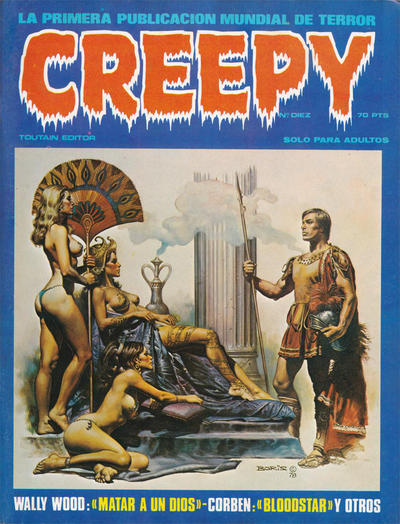 Cover for Creepy (Toutain Editor, 1979 series) #10