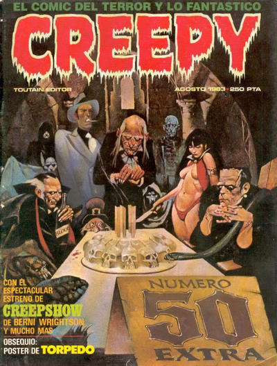 Cover for Creepy (Toutain Editor, 1979 series) #50