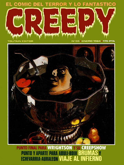 Cover for Creepy (Toutain Editor, 1979 series) #55