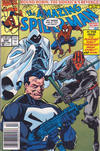 Cover Thumbnail for The Amazing Spider-Man (1963 series) #355 [Newsstand Edition]