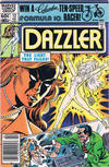 Cover for Dazzler (Marvel, 1981 series) #12 [Newsstand]