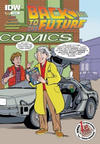 Cover for Back to the Future (IDW, 2015 series) #1 [1st Print Comics Exclusive Cover]