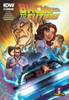Cover for Back to the Future (IDW, 2015 series) #1 [Rhode Island Comic Con Exclusive Cover]