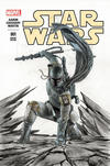 Cover Thumbnail for Star Wars (2015 series) #1 [Forbidden Planet Exclusive Adi Granov Partial Black and White/Fade Variant]