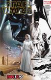 Cover Thumbnail for Star Wars (2015 series) #1 [Dallas FanExpo Exclusive Salvador Larroca Half Black and White Variant]