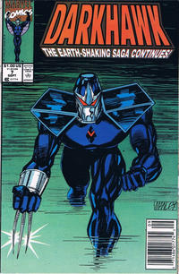 Cover Thumbnail for Darkhawk (Marvel, 1991 series) #7 [Newsstand]