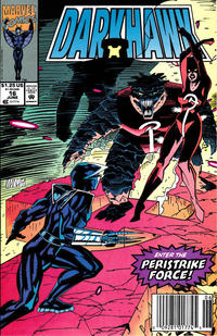 Cover Thumbnail for Darkhawk (Marvel, 1991 series) #16 [Newsstand]