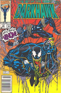 Cover Thumbnail for Darkhawk (Marvel, 1991 series) #13 [Newsstand]