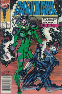 Cover Thumbnail for Darkhawk (Marvel, 1991 series) #8 [Newsstand]