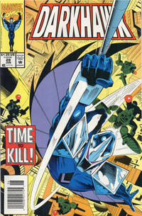 Cover Thumbnail for Darkhawk (Marvel, 1991 series) #28 [Newsstand]