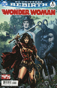 Cover Thumbnail for Wonder Woman (DC, 2016 series) #1 [Liam Sharp Cover]