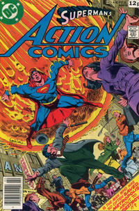 Cover Thumbnail for Action Comics (DC, 1938 series) #480 [British]