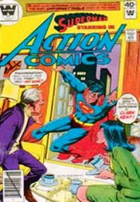 Cover Thumbnail for Action Comics (DC, 1938 series) #508 [Whitman Variant]