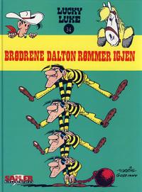 Cover Thumbnail for Lucky Luke [Seriesamlerklubben] (Hjemmet / Egmont, 1998 series) #34 - Brødrene Dalton rømmer igjen