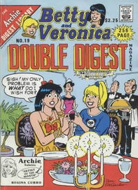 Cover Thumbnail for Betty and Veronica Double Digest Magazine (Archie, 1987 series) #19