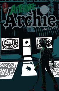 Cover Thumbnail for Afterlife with Archie (Archie, 2013 series) #1 [Dewey's Comic City Store Variant]