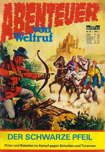 Cover for Bastei Sonderband (Bastei Verlag, 1970 series) #42 - Der schwarze Pfeil