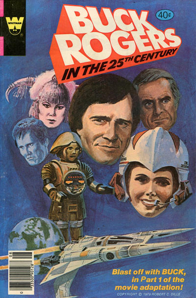 Cover for Buck Rogers (Western, 1964 series) #2 [Whitman]