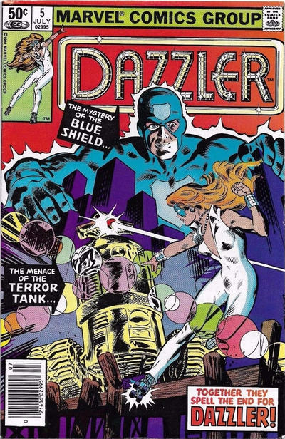Cover for Dazzler (Marvel, 1981 series) #5 [Direct Edition]