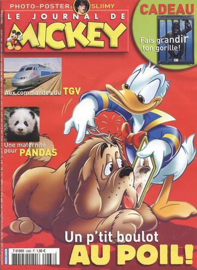 Cover for Le Journal de Mickey (Disney Hachette Presse, 1952 series) #2968