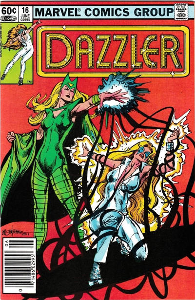 Cover for Dazzler (Marvel, 1981 series) #16 [Direct Edition]
