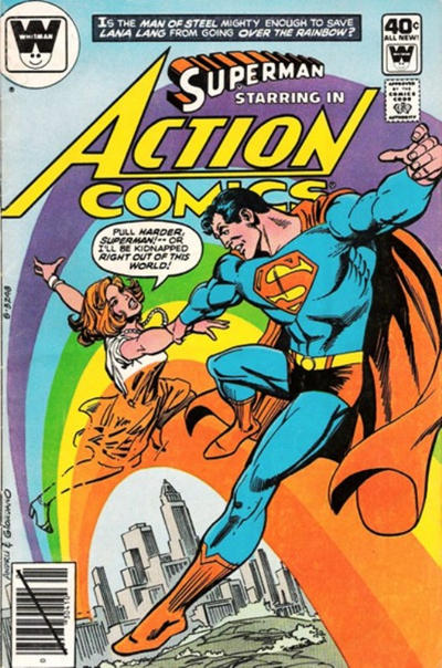 Cover for Action Comics (DC, 1938 series) #503 [Whitman]