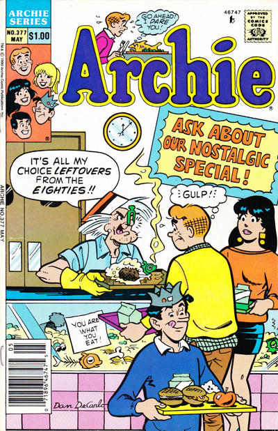 Cover for Archie (Archie, 1959 series) #377