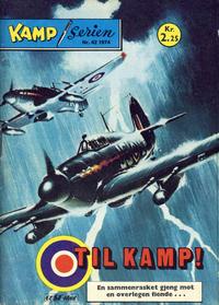 Cover Thumbnail for Kamp-serien (Serieforlaget / Se-Bladene / Stabenfeldt, 1964 series) #42/1974