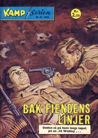 Cover for Kamp-serien (Serieforlaget / Se-Bladene / Stabenfeldt, 1964 series) #51/1975