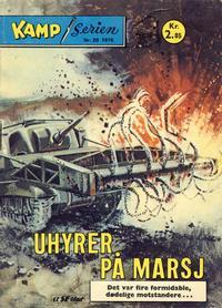 Cover Thumbnail for Kamp-serien (Serieforlaget / Se-Bladene / Stabenfeldt, 1964 series) #28/1976