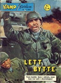 Cover Thumbnail for Kamp-serien (Serieforlaget / Se-Bladene / Stabenfeldt, 1964 series) #33/1976
