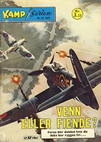 Cover Thumbnail for Kamp-serien (Serieforlaget / Se-Bladene / Stabenfeldt, 1964 series) #31/1977