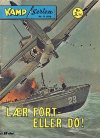 Cover Thumbnail for Kamp-serien (Serieforlaget / Se-Bladene / Stabenfeldt, 1964 series) #11/1978