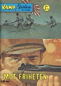 Cover Thumbnail for Kamp-serien (Serieforlaget / Se-Bladene / Stabenfeldt, 1964 series) #12/1978