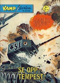 Cover Thumbnail for Kamp-serien (Serieforlaget / Se-Bladene / Stabenfeldt, 1964 series) #25/1978