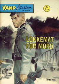 Cover Thumbnail for Kamp-serien (Serieforlaget / Se-Bladene / Stabenfeldt, 1964 series) #33/1978