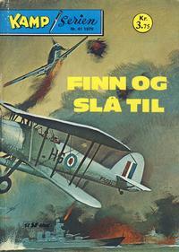 Cover Thumbnail for Kamp-serien (Serieforlaget / Se-Bladene / Stabenfeldt, 1964 series) #41/1979