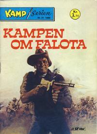 Cover Thumbnail for Kamp-serien (Serieforlaget / Se-Bladene / Stabenfeldt, 1964 series) #21/1980