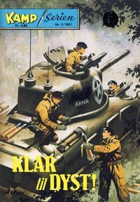 Cover Thumbnail for Kamp-serien (Serieforlaget / Se-Bladene / Stabenfeldt, 1964 series) #3/1981