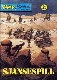 Cover Thumbnail for Kamp-serien (Serieforlaget / Se-Bladene / Stabenfeldt, 1964 series) #17/1981