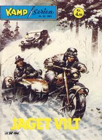 Cover Thumbnail for Kamp-serien (Serieforlaget / Se-Bladene / Stabenfeldt, 1964 series) #22/1981