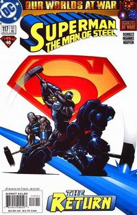 Cover Thumbnail for Superman: The Man of Steel (DC, 1991 series) #117 [Direct Edition]
