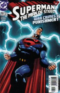 Cover Thumbnail for Superman: The Man of Steel (DC, 1991 series) #118