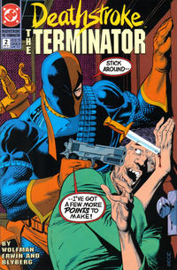 Cover Thumbnail for Deathstroke, the Terminator (DC, 1991 series) #2